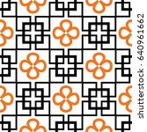 seamless geometric pattern with ...   Shutterstock .eps vector #640961662