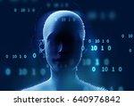 double exposure image of... | Shutterstock . vector #640976842
