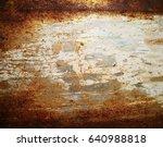rusty  | Shutterstock . vector #640988818