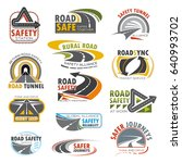 road highway  traffic safety... | Shutterstock .eps vector #640993702