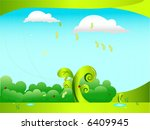 spring   Shutterstock .eps vector #6409945