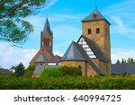 Churches at the Roman Way, Germany, Eifel, Wollersheim