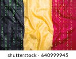 data protection  binary code...   Shutterstock . vector #640999945
