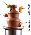 Chocolate Fondue Fountain With...