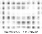 abstract halftone dotted... | Shutterstock .eps vector #641020732