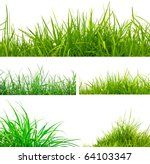 3 Backgrounds Of Fresh Spring...