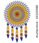 native american indian medicine ... | Shutterstock .eps vector #64103488