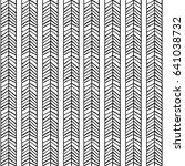 linear scandinavian seamless... | Shutterstock .eps vector #641038732