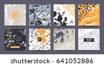 modern handcrafted templates ... | Shutterstock .eps vector #641052886