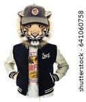 Tiger Illustration  Tee Shirt...
