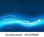 business presentation... | Shutterstock .eps vector #64109860