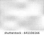 abstract halftone dotted... | Shutterstock .eps vector #641106166