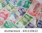 pile of many type china... | Shutterstock . vector #641110612