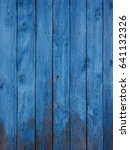 painted fence light wood panel... | Shutterstock . vector #641132326