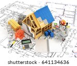 building and construction...   Shutterstock . vector #641134636