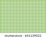 light green gingham pattern... | Shutterstock . vector #641139022