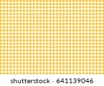 dark yellow gingham pattern... | Shutterstock . vector #641139046
