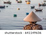 vietnamese women looking at... | Shutterstock . vector #641149636