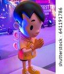 Small photo of BANGKOK - MAY 6,2017 : Cartoon figure in THAILAND TOY EXPO 2017 Celebrating 5th Anniversary 6 May 2017 at CentralWorld Admission is free , Bangkok, Thailand.