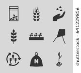 seed icons set. set of 9 seed... | Shutterstock .eps vector #641229856