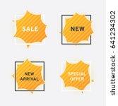 website banners  sale  new ... | Shutterstock .eps vector #641234302
