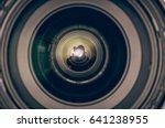 camera  silhouette ... | Shutterstock . vector #641238955