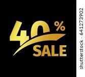 black banner discount purchase... | Shutterstock .eps vector #641273902
