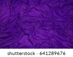 Purple Background On Fabric ...