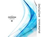 abstract vector background ... | Shutterstock .eps vector #641291542