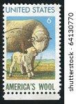 united states   circa 1971 ... | Shutterstock . vector #64130770