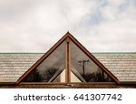 abstract triangle angled corner ... | Shutterstock . vector #641307742