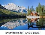 emerald lake  alberta  canadian ... | Shutterstock . vector #64131508