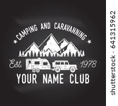 camper and caravaning club on... | Shutterstock .eps vector #641315962