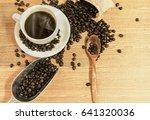 coffee bean    Shutterstock . vector #641320036