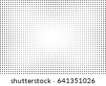 abstract halftone dotted... | Shutterstock .eps vector #641351026
