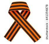 bow of st. george's ribbon...   Shutterstock . vector #641354878