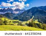 lovely sunny autumn day. odle... | Shutterstock . vector #641358346