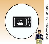 home appliances icon. microwave ...   Shutterstock .eps vector #641358358