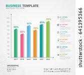 infographics elements diagram... | Shutterstock .eps vector #641395366