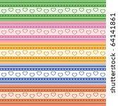 seamless pattern  vector | Shutterstock .eps vector #64141861