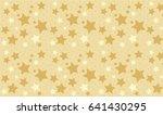 stars and dots pattern