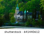 lillafured palace in miskolc ... | Shutterstock . vector #641440612