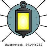 old lamp | Shutterstock .eps vector #641446282