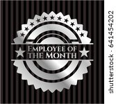 employee of the month silvery... | Shutterstock .eps vector #641454202