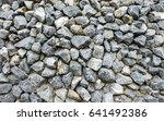 Big Gray Gravel Or Rock Textur...