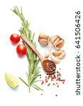 spicy mediterranean cuisine  ... | Shutterstock . vector #641506426