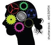 Brain Mechanism  Abstract Art...
