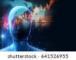 3d rendering of human  on... | Shutterstock . vector #641526955
