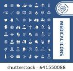 medical icon set   Shutterstock .eps vector #641550088