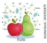 fruits and vegetables design   Shutterstock .eps vector #641552875